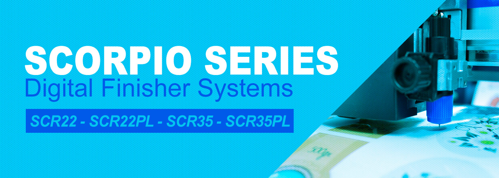SCORPIO SERIES - digital label finishing systems