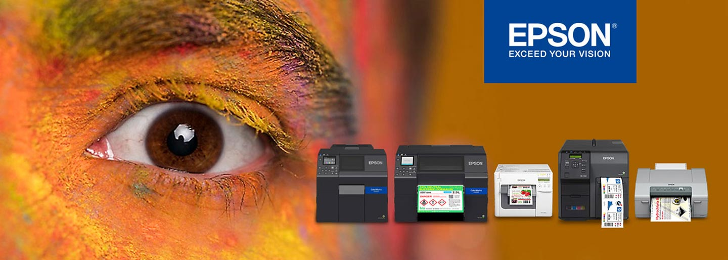 DPR designed for Epson colorworks label printers