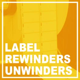 Label rewinders - Label unwinders