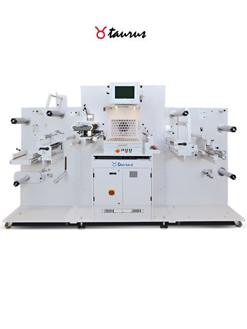 TAURUS - laser cutting & laminating machine